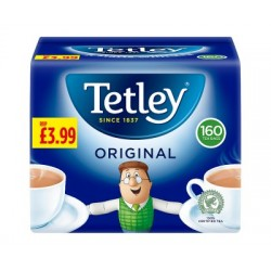 Tetley Tea 160 Bags