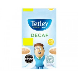 Tetley Tea Decaf 40 Bags