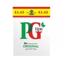 PG Tips 80 Bags