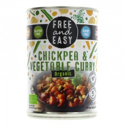 Free & Easy Chickpea & Veg Curry