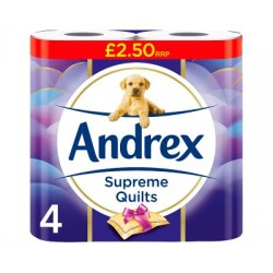 Andrex Quilts 4 Pack
